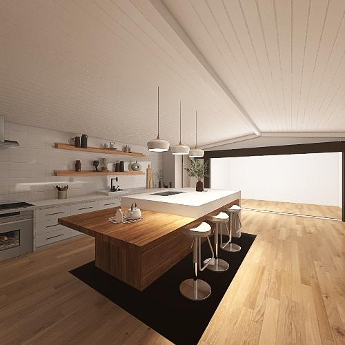 random rooms Interior Design Render