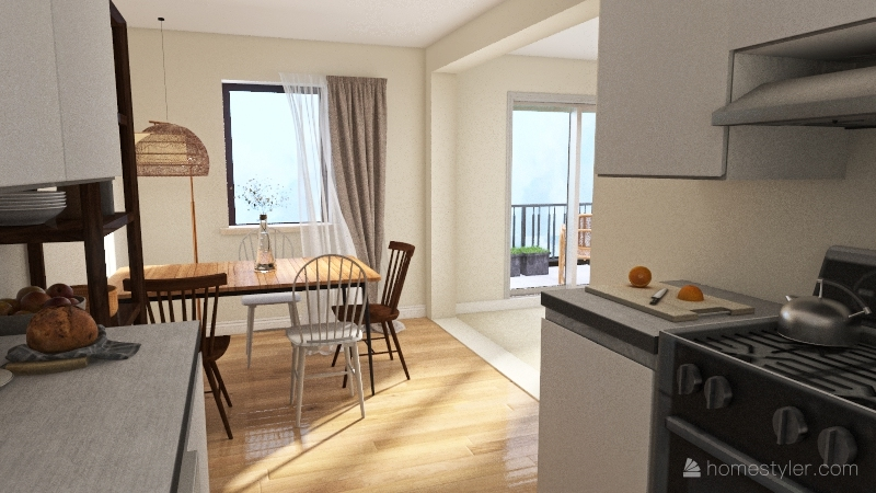 Magnolia 2 Bedroom Interior Design Render
