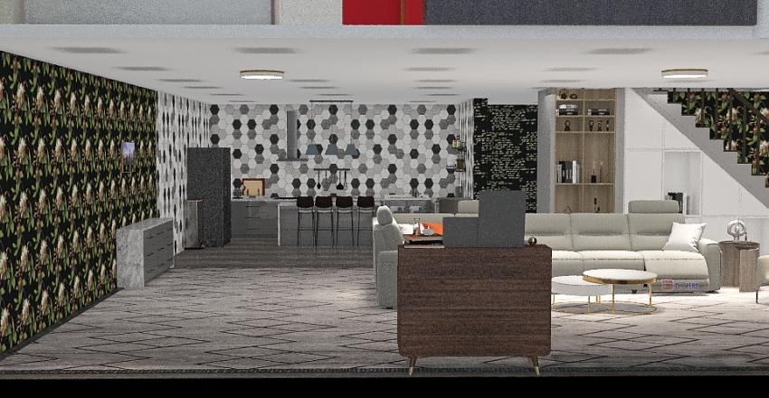 My own House Interior Design Render