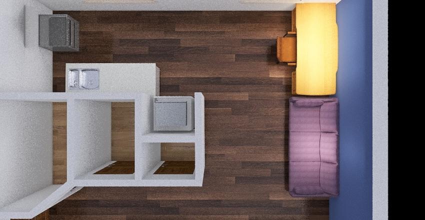 Хрущевка 3 комнаты Interior Design Render
