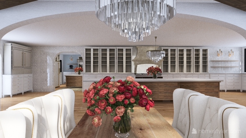 Pantry Interior Design Render