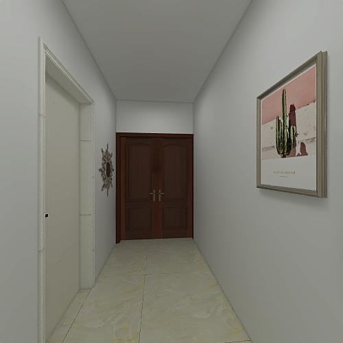 gropallo no spostamento muri Interior Design Render