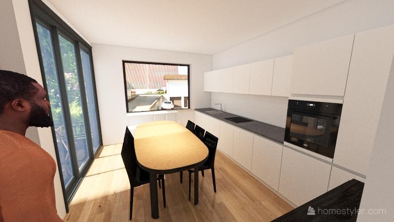 Wohnung Niederrohrdorf Interior Design Render
