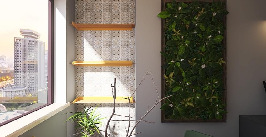 A antiga varadinha que hoje é um cantinho fofo. Interior Design Render