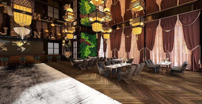 Dans la Jungle Noire Interior Design Render