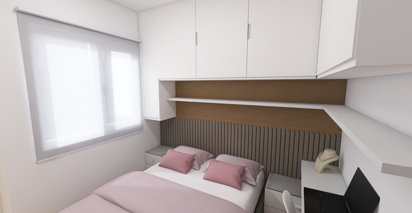 Quarto Interior Design Render