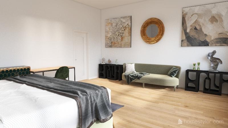 Brentwood Home Interior Design Render