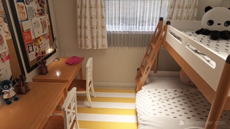 Magnolia 2 Bedroom Interior Design Render