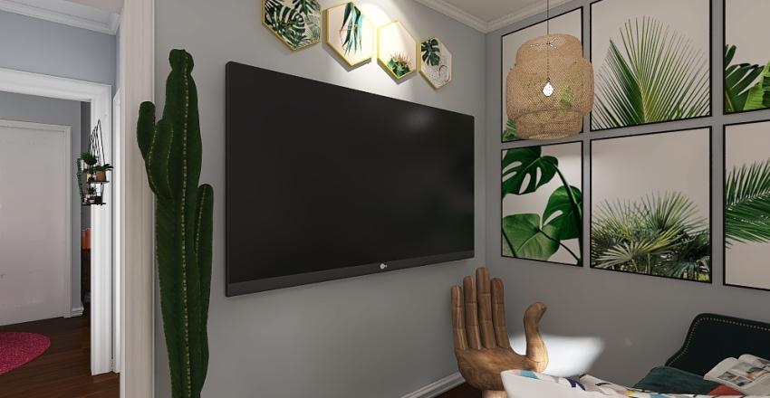 Dyer Apartment Project Interior Design Render