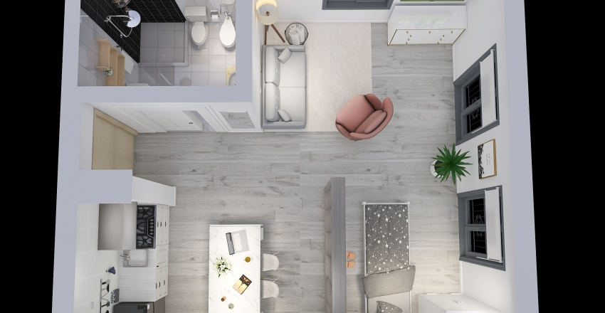 Practica iefi Interior Design Render