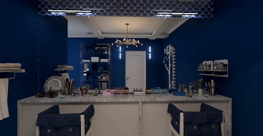 Modern Classic House Interior Design Render