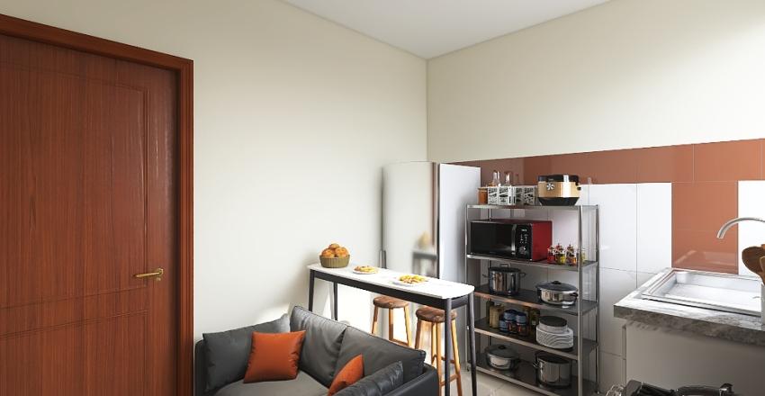 Ap. Dani e Leo Interior Design Render