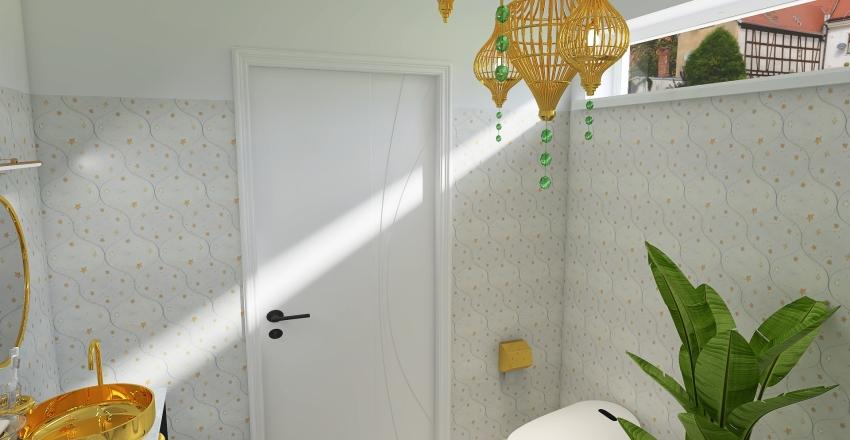 Suburban Family Home Interior Design Render