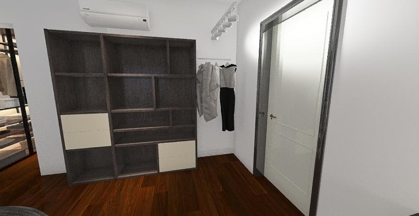 Macau Bedroom Interior Design Render