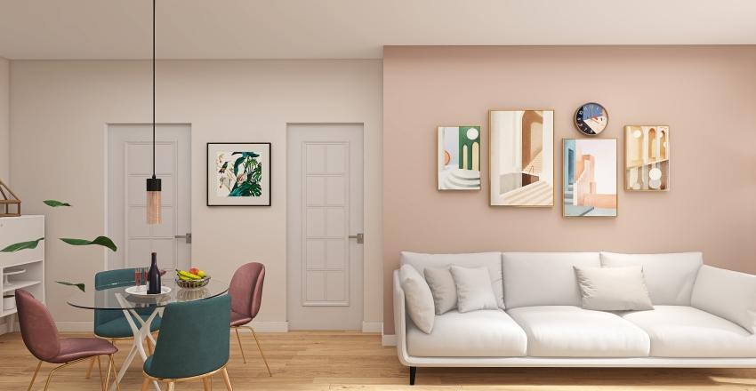 Casa Fornarelli Interior Design Render