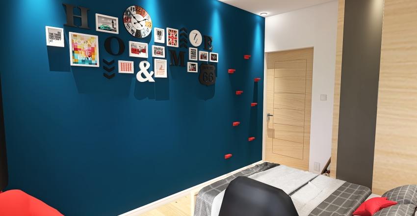 MIESZKANIE 60M2 Interior Design Render