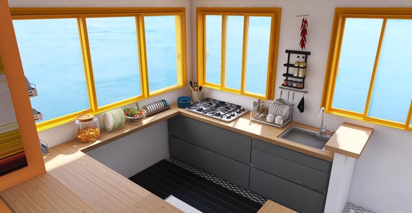 CHALANA 1 ENTRADA Interior Design Render