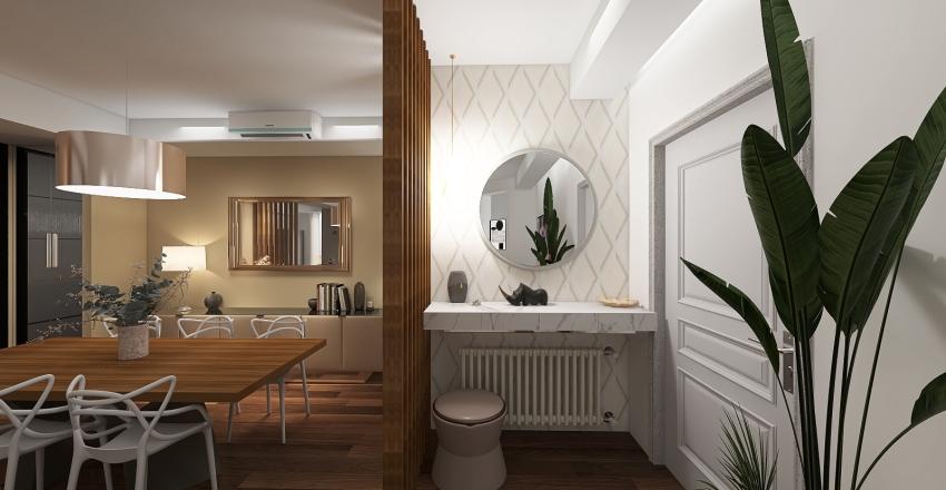 Olivi House Interior Design Render