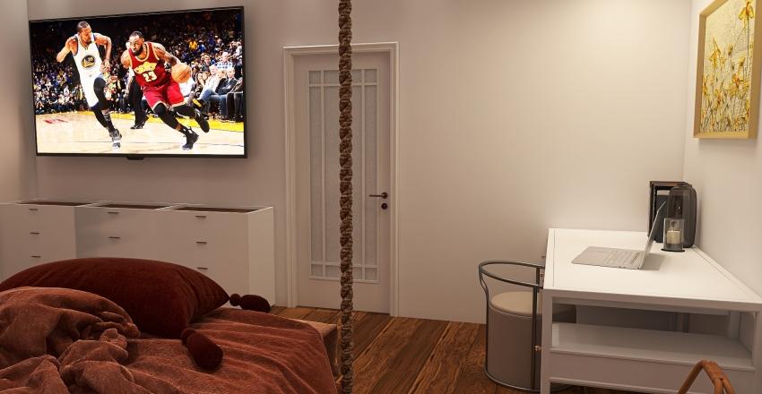 Calming house Interior Design Render