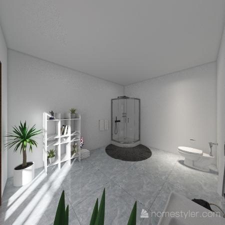 Mediterranean House Interior Design Render