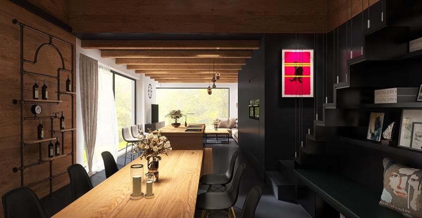 Rural home Interior Design Render