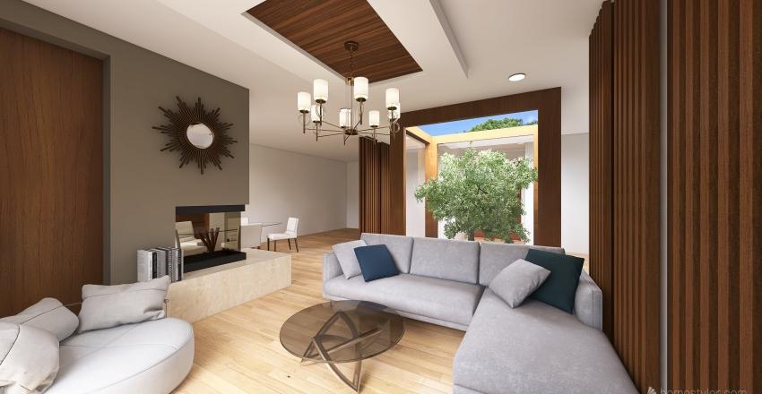 CABAÑA A.B. Interior Design Render