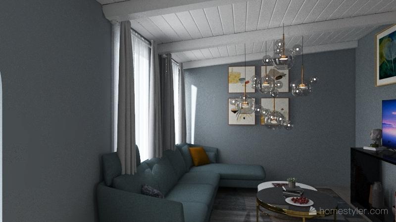 apartment- Interior Design Render