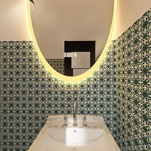 small office Interior Design Render