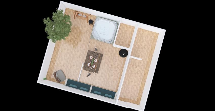 Proyecto Marmol Interior Design Render