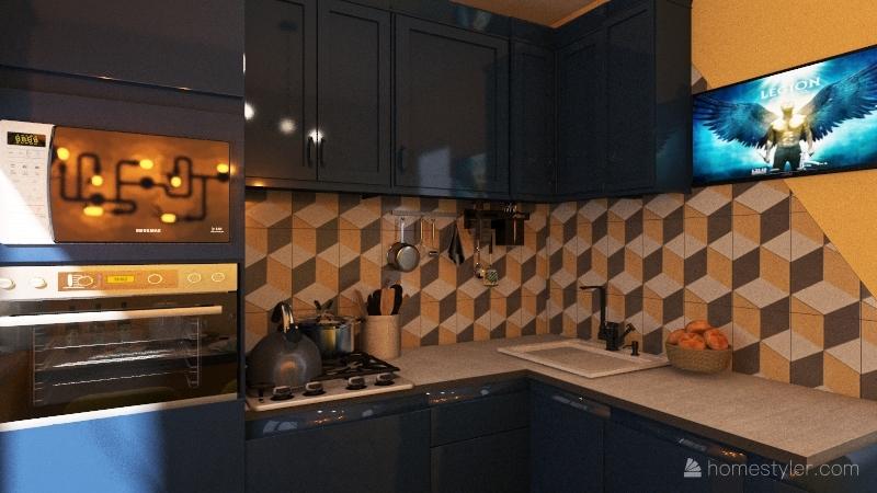 кухня Юля Interior Design Render