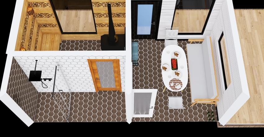 Баня_copy Interior Design Render