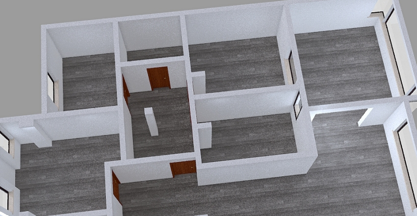 Copy of plano piso palmeral Interior Design Render