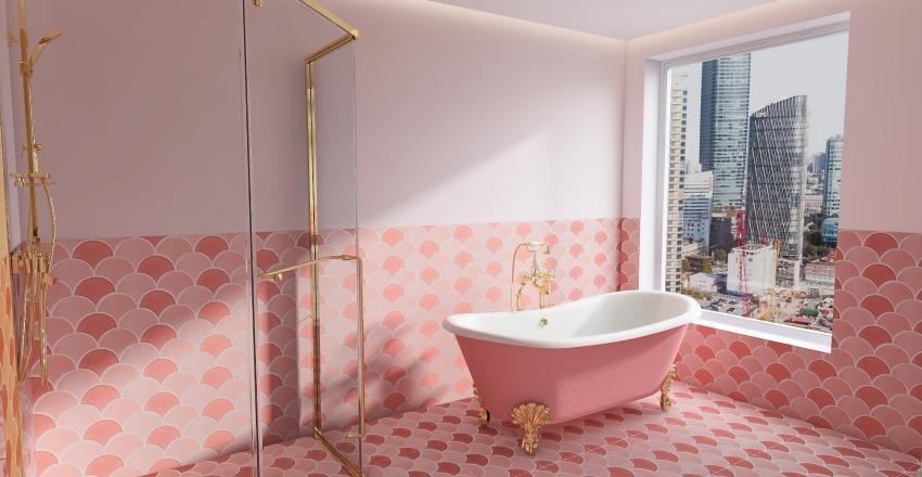 fancy apartment Interior Design Render