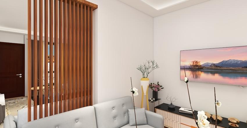 Home 125m, 6.25*20 Interior Design Render