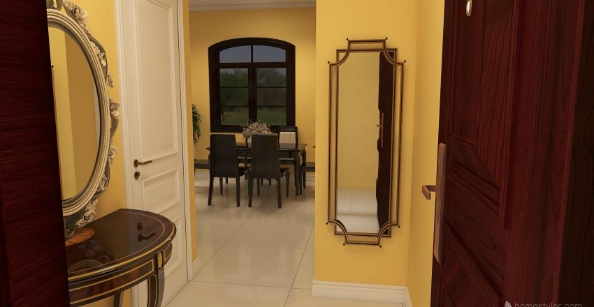 casa con 3 departamentos Interior Design Render