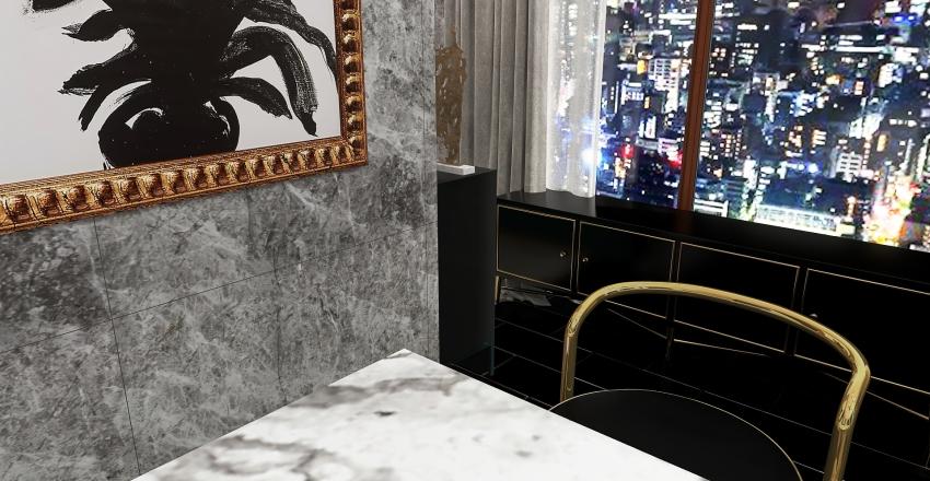 Luxury Apartment in Tokyo Interior Design Render