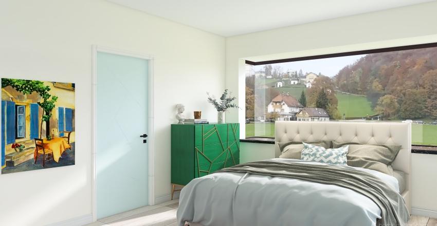 primary open floor plan Interior Design Render