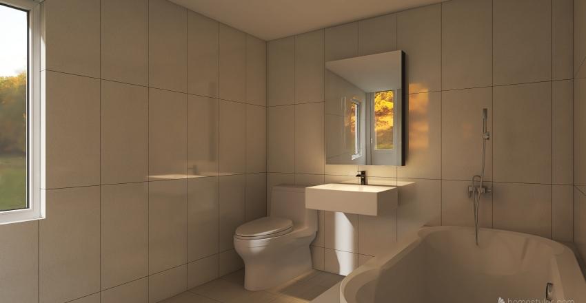 baie paltineni Interior Design Render