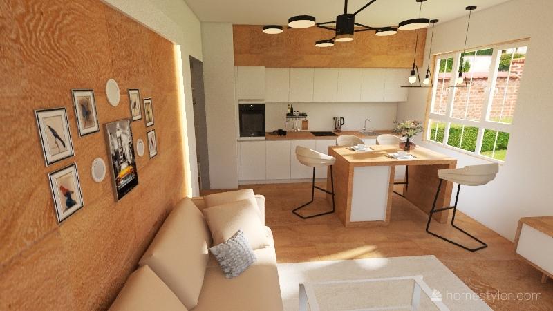 Sasha option 2 Interior Design Render