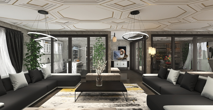 Mi primera casa!✨ Interior Design Render