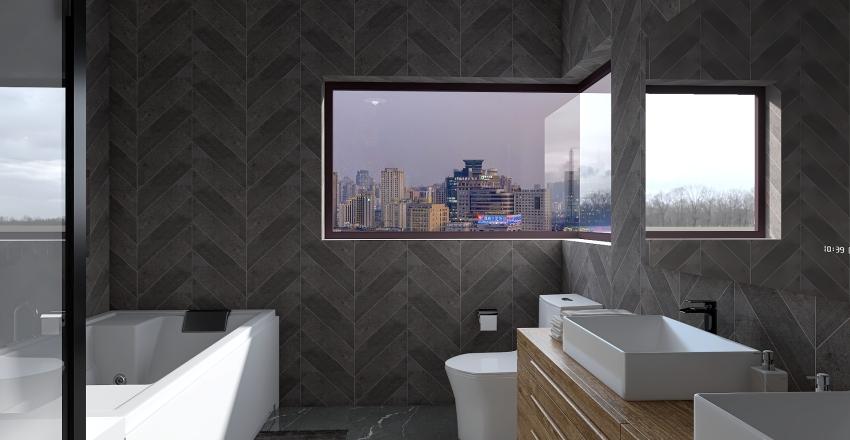 Down Town Apartment Interior Design Render