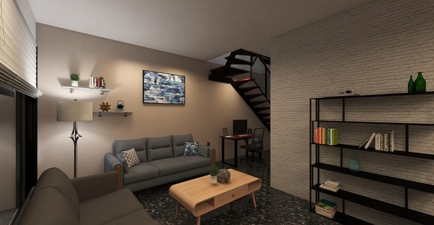 Casa Munah Final Interior Design Render