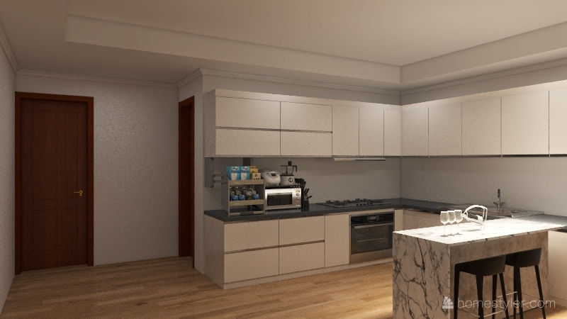 INTERIOR SARANGANI PHASE2 Interior Design Render