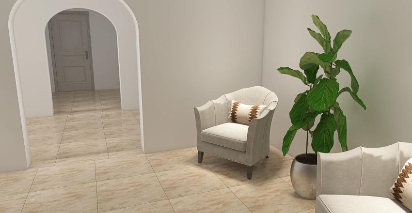English villa Interior Design Render