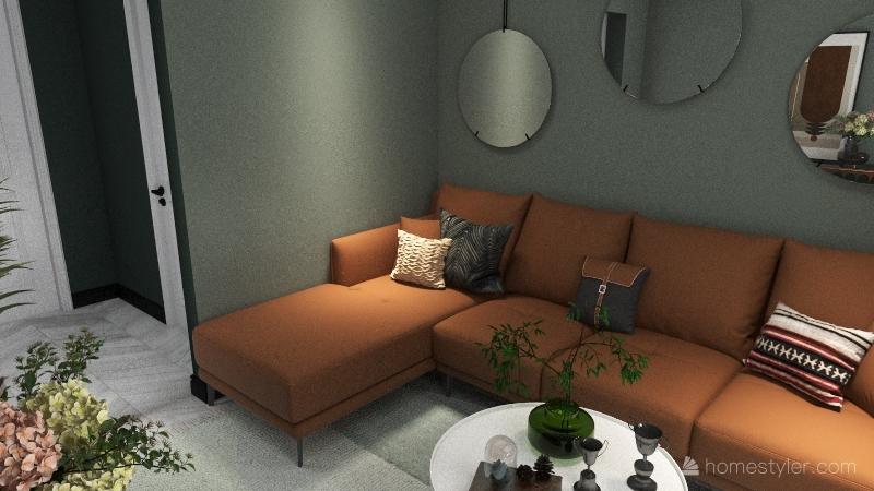 807 Apartment Interior Design Render