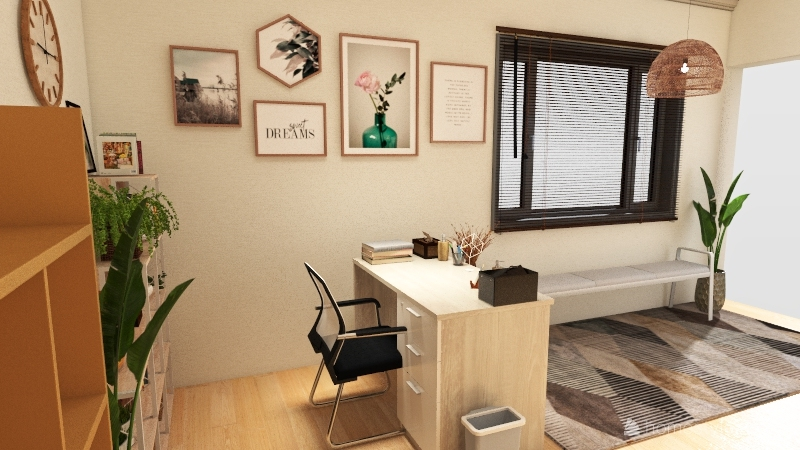 OFFICE n Interior Design Render