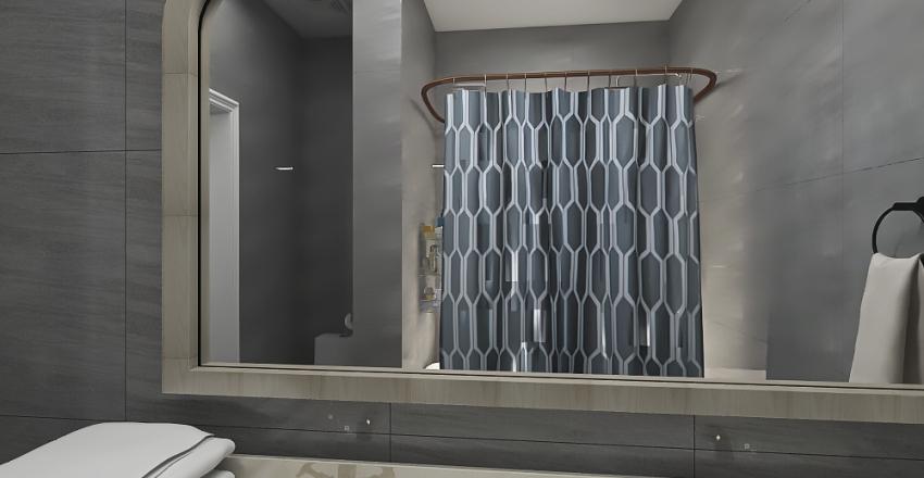 Ranch House Interior Design Render