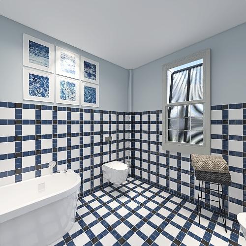 Casa su due piani Interior Design Render