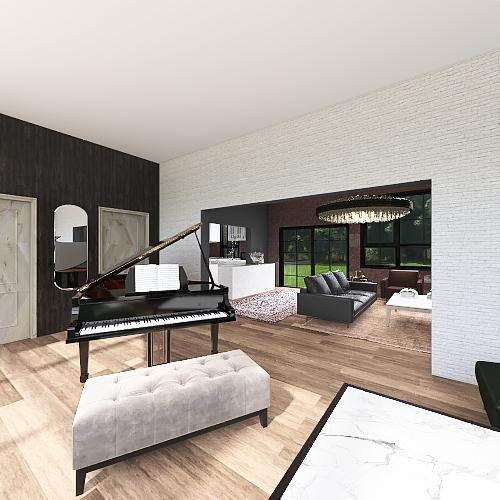 Copy of Luxury Style House Interior Design Render