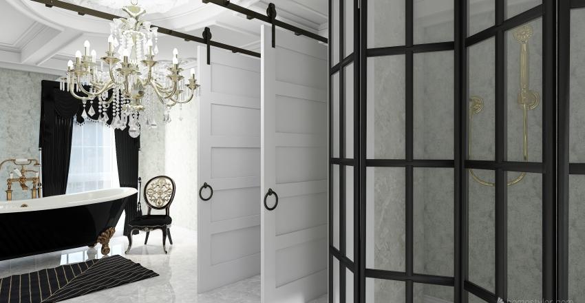 luxury hotel Interior Design Render